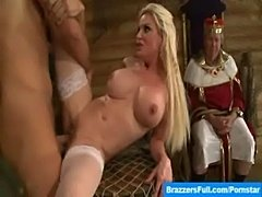 Pirates send whore and king to the plank after jizz  free