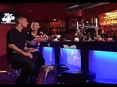 Young hot chick gets fucked in a bar. She gave her herhead and been hard fucked from behind till cum wasspilled all over her boobs.