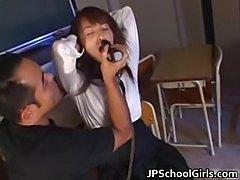 Hot Asian schoolgirl is amazing part3
