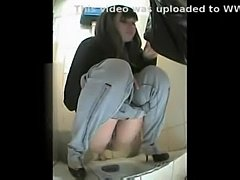 Russian woman toilet  free