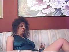 hot milf in satin dress fucked in ass