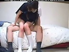 19 Year Old Japanese School Babe