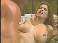 Alexis amore sucks cock, then gets titty  free