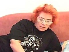 Big Sexy Butt BBW Redhead Granny Babushka