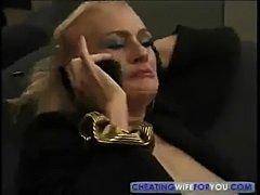 Blonde Mature Kathy Jones Enjoys Sucking and Fucking