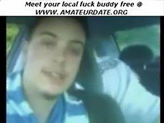 Car sex in field  free