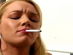Smoking Fetish - Brooke Hunter Smokin 2 - Scene 3
