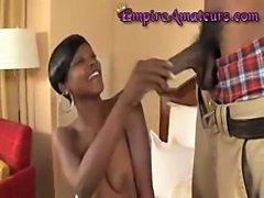 Amateur Black Ebony Couple Fucking