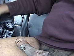 Quickie car blowjob and fuck