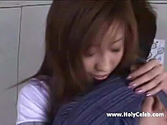Slender japanese girl fucked and facialized  free
