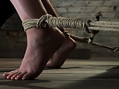Bondage fetish slave forced orgasm