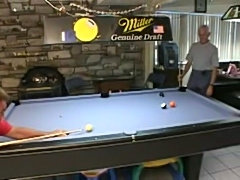 Pool table lesson teen  free