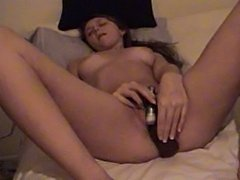 Lindsey Dawn Plays on the Bed