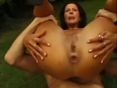 Milf Anal Foursome FFFM in the Garden - xHamster.com