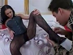 Sexy Young Girl In Pantyhose Fuck