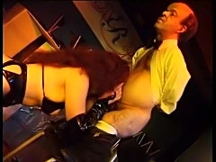 Midget in a suit fucks a hot stripper