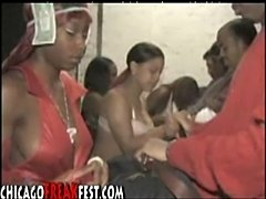 Underground blowjob contest in the hood part 1  free