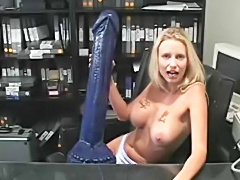 Monster brutal dildo reality