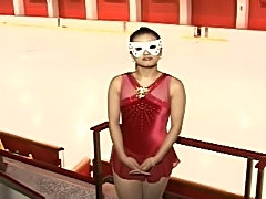 hot jap girl skating on ice nude, then some fucking, mosaic unfortunately