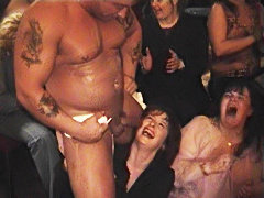 Boozed Mature Wild striptease party