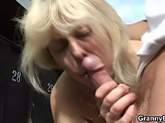 Sex with the mature slut
