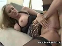 Mature bossy milf fucks her step-son  free