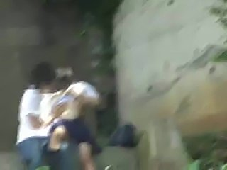 Watch Girl doing Asian in Schoolgirl Having Sex In The Park