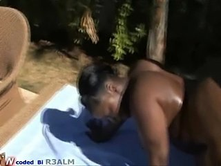 Mz Booty gets fucked by a huge cock