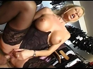 French Slut Anal in Dressing Room