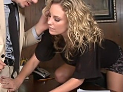 Combine business and pleasure by having sex at work (Naughty America »...