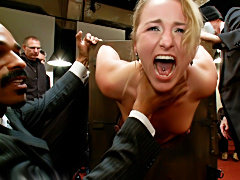 Young Slut Used and Abused by kink castle