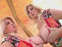 F60 Big Boobs RED CORSET LADY