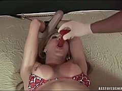 Extreme fetish shemale anal insertions