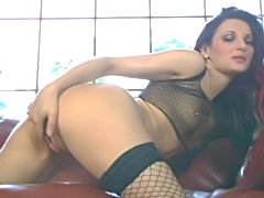 Euro SuperAmazon takes Biggz huge black cock up her ass!
