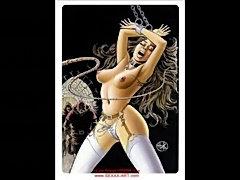 Huge breasts sex bondage  free
