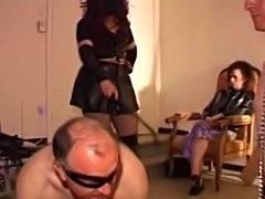 Bizarre french femdom