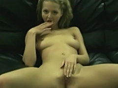 My blonde exgirlfriend teasing for a cam  free