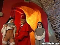 Horny young nuns hardcore  free