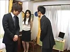 Asian gal soap play