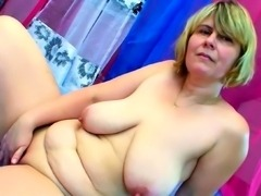 Huge Saggy Tits Mum Fuck by Big Dick Step Son and Facial