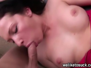 Czech girl Asya gets her tonsils tickled with her guys big hard cock. This...