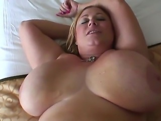 Manuel Ferrara is getting his horny cock pleasured by gigantic boobs beauty...
