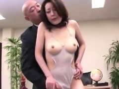 Nippon japanese gets ass fingered as she is at the office