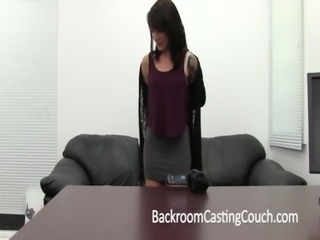 Girl Next Door Gets Ambush Creampie on Casting Couch free