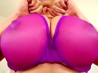 Kianna Dior is a busty Asian that is hiding her huge tits under a bra. Her...