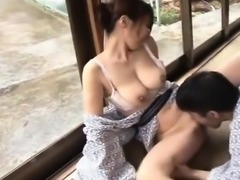 Vacation At a Hot Spring Steamy Fuck