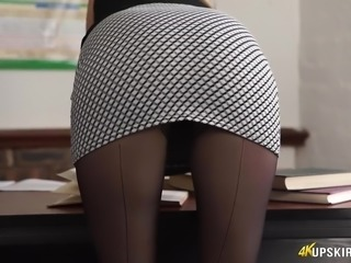 Bright Ashley Jane is awesome professor who loves flashing her booty