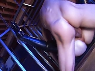 Aiden Starr fucks in the cage