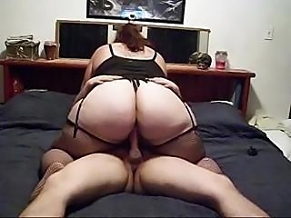 Big plumper films getting fucked and butt plugged on her home cam